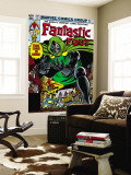 Fantastic Four No.247 Cover: Dr. Doom, Mr. Fantastic, Invisible Woman, Human Torch and Thing Wall Mural by John Byrne