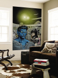 Ultimate X-Men 83 Headshot: Nightcrawler, Callisto and Caliban Wall Mural by Pascal Alixe
