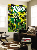 X-Men No.51 Cover: Dane, Lorna and X-Men Wall Mural by Jim Steranko
