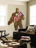 Captain America V4, No.23 Cover: Captain America Wall Mural by Dave Johnson