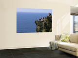 Rocky Atlantic Viewpoint at Tintagel Castle. Wall Mural by Doug McKinlay