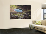 Kerid Volcanic Crater Wall Mural by Holger Leue