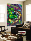 The Incredible Hulk No.91 Cover: Hulk and Godseye Wall Mural by Brandon Peterson