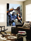 Captain America And The Falcon No.12 Cover: Captain America and Falcon Wall Mural by Trevor Hairsine