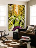 Marvel Comics Retro: The Incredible Hulk Comic Panel (aged) Wall Mural
