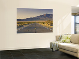 Avawatz Mountains over Silurian Valley in Mojave Desert from Highway 127 Wall Mural by Witold Skrypczak
