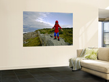Child Dressed as Spiderman at Maroubra Beach Wall Mural by Oliver Strewe