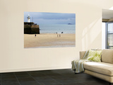 Harbour at Low Tide Wall Mural by Doug McKinlay