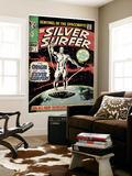Marvel Comics Retro: Silver Surfer Comic Book Cover No.1, Origin (aged) Wandgemälde