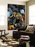 Weapon X No.16 Cover: Logan and Wolverine Wall Mural by Georges Jeanty