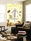 Marvel Adventures Fantastic Four 28 Cover: Silver Surfer Wall Mural by Paul Smith