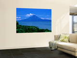 Lake Managua and Momotombo Volcano Wall Mural by Kraig Lieb