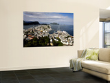 Alesund from Mount Aksla Wall Mural by Manfred Hofer