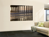 Pacific Ocean and Pismo Beach Pier Wall Mural by Brent Winebrenner