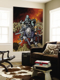 Nick Furys Howling Commandos 4 Cover: Warwolf Wall Mural by Eric Canete