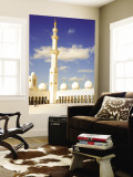 Exterior of Sheikh Zayed Bin Sultan Al Nahyan Mosque (Also known as Sheikh Zayed Grand Mosque) Wall Mural by Rogers Gaess