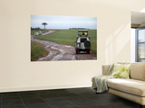 Tourists in Safari Vehicles Wall Mural by Doug McKinlay