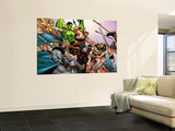 Hulk Vs. Hercules: When Titans Collide No.1 Group: Hulk, Thor and Dr. Strange Wall Mural by Eric Nguyen