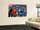 The New Avengers No.15 Group: Cage Wall Mural by Frank Cho