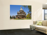 Wooden Church in Vitoslavlitsy Museum of Wooden Architecture Wall Mural by Tim Makins