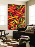 Chillies Wall Mural by Jean-Bernard Carillet