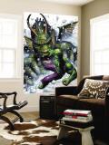 Hulk Vs. Fin Fang Foom #1 Cover: Hulk and Fin Fang Foom Mural por Jim Cheung