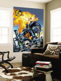Ghost Rider V3 No.6 Cover: Ghost Rider and Gunmetal Gray Wall Mural by Trent Kaniuga
