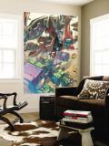 Mega Morphs No.2 Cover: Spider-Man and Hulk Wall Mural by Lou Kang