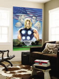 Ultimate Fantastic Four No.27 Cover: Thor Wall Mural by Greg Land