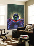Marvel Team-Up No.12 Cover: Titannus and Super Skrull Wall Mural by Paco Medina