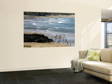 Beach at Gwithian Sands Wall Mural by Doug McKinlay