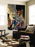 Avengers No.79 Group: Captain America Wall Mural by Lee Weeks