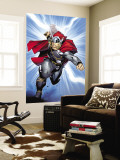 Thor No.6 Cover: Thor Wall Mural by Olivier Coipel