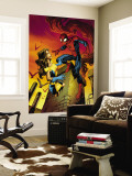 Ultimate Spider-Man Annual No.1 Cover: Spider-Man and Shadowcat Wall Mural by Mark Brooks
