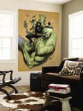 Ultimate Wolverine Vs. Hulk No.2 Cover: Wolverine and Hulk Wall Mural by Leinil Francis Yu