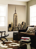 Empire State Building Amongst High-Rise Wall Mural by Merten Snijders