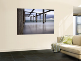 Boat Launching Frame at Albert Park Yachting and Angling Club Wall Mural by Shayne Hill