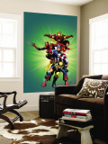 Wizard 136 Cover: Captain America, Wolverine, Spider-Man, Spider Woman, Iron Man and New Avengers Wall Mural by Jim Cheung