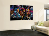 X-Men: Age of Apocalypse One Shot No.1 Cover: Wolverine Wall Mural by Bryan Hitch
