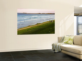 Relaxing on East Beach Wall Mural by Glenn Beanland