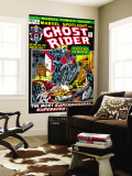 Marvel Spotlight Ghost Rider 5 Cover: Ghost Rider Reproduction murale g&#233;ante par Mike Ploog
