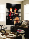 Daredevil The Murdock Papers No.80 Cover: Elektra and Black Widow Wall Mural by Alex Maleev