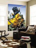 Marvel Adventures Fantastic Four 5 Group: Mr. Fantastic Wall Mural by Manuel Garcia