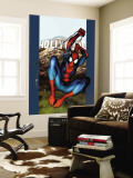 Ultimate Spider-Man No.54 Cover: Spider-Man Wall Mural by Mark Bagley