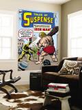 Tales Of Suspense: Iron Man No.42 Cover: Iron Man and Gargantus Wall Mural by Jack Kirby