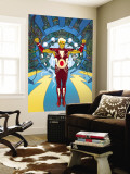 Warlock 1 Cover: Adam Warlock Charging Wall Mural by J.H. Williams III