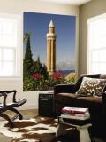 Fluted Minaret (Yivli Minare). Wall Mural by Izzet Keribar