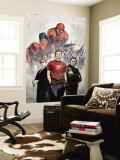 Powerless No.1 Cover: Spider-Man, Peter Parker, Wolverine, Daredevil, Matt Murdock and Logan Wall Mural by Michael Gaydos