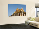 Silver Pagoda at Royal Palace Wall Mural by Ariadne Van Zandbergen