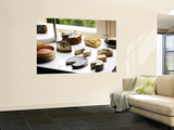 Cheese Plate Wall Mural by Oliver Strewe